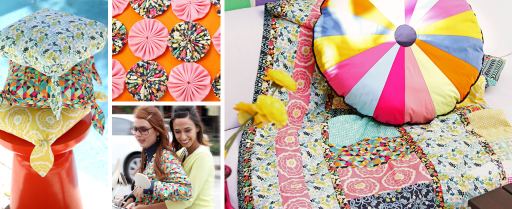 Carnaby Street Pillows, Quilts & Clothing