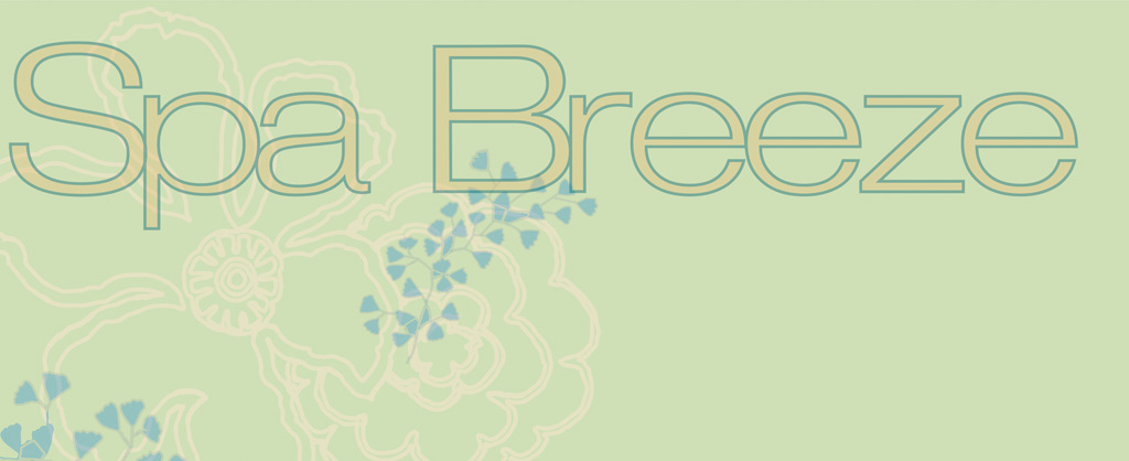 Spa Breeze  Collection by Pat Bravo