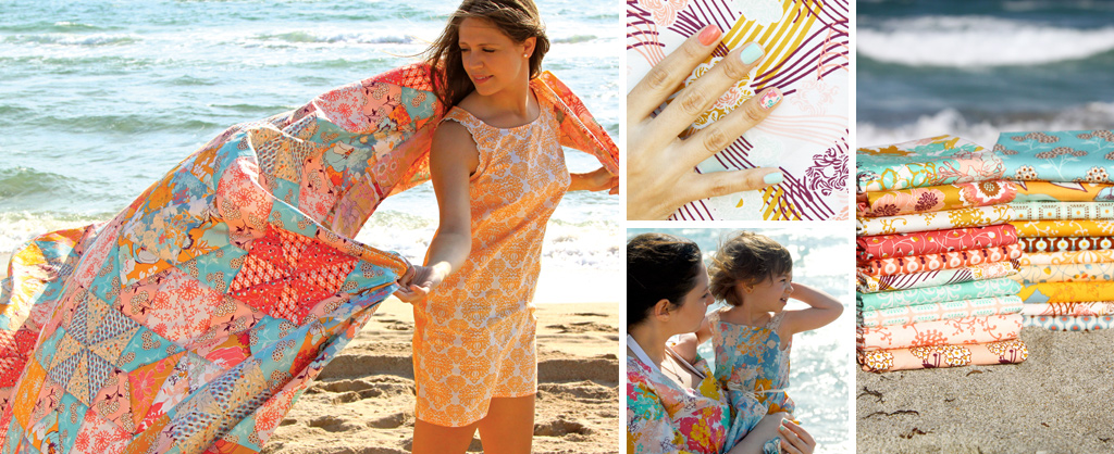 Summerlove Sandcastles Quilt and Various Clothing