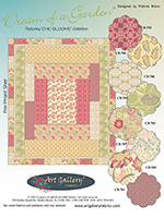 Dream of a Garden Quilt Pattern by Pat Bravo