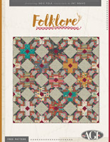 Folklore Quilt Pattern by Pat Bravo
