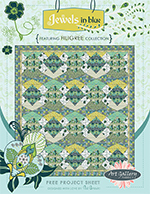 Jewels Quilt Pattern by Pat Bravo