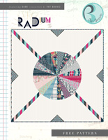 Radium Free Quilt Pattern by Pat Bravo