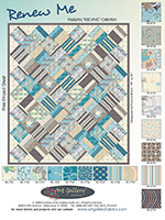 Renew Me Quilt by Pat Bravo