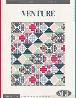 Venture Free Quilt Pattern by Pat Bravo