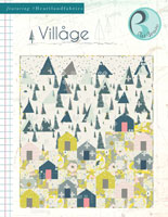 Village Free Quilt Pattern by Pat Bravo