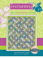 Enchanting Quilt Pattern by Pat Bravo