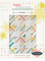 Rapture Free Quilt Pattern by Pat Bravo