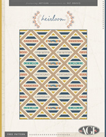 Heirloom Free Quilt Pattern by Pat Bravo