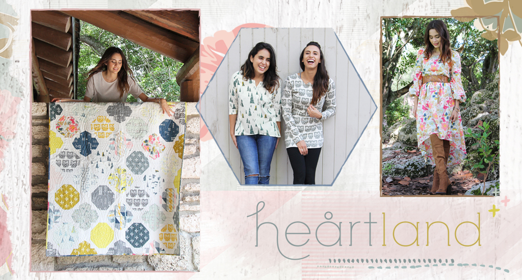 Pat Bravo's Heartland Fabric Collection.