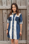 Artisan Fabrics Denim Shirt Dress