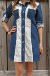 Artisan Fabrics Denim Dress