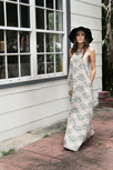 Artisan fabric Maxi Dress