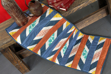 Artisan table runner
