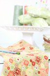 Chic Blooms Pin Cushion Fabric
