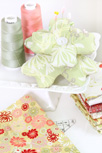 Chic Blooms Pin Cushion Fabric Close-Up