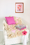 Dreaming in French Chic Throw