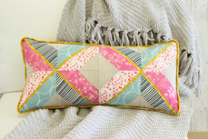 Essentials long quilted pillow