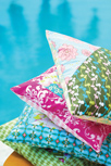 Girly Girl Pillows Close-Up