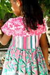 Hyperreal Garden Girl Dress Detail