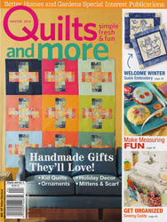 Quilts and More Magazine Cover